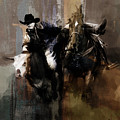 Rodeo Painting by Gull G