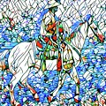 Rodeo Wrangler Mosaic by Alice Gipson
