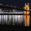 Roebling Bridge by Tonya Peters