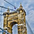 Roebling Suspension Bridge by Tyler Mitchell