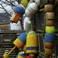 Roger's Buoys by Faith Harron Boudreau
