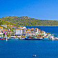 Rogoznica Harbor And Waterfront View by Brch Photography