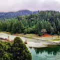 Rogue River Bend Pano by Chris Sveen