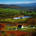 Rolling Countryside by Dawn Van Doorn