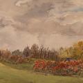 Rolling Fields In The Fall by Debbie Homewood