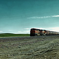 Rolling Freight Train by Jeff Swan