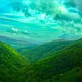 Rolling Hills Of Italy by Jon Adiarte