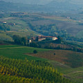 Rolling Hills Of The Piemonte Region by Carl Jackson