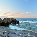 Rolling Waves On Superior by Bonfire Photography