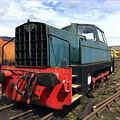 Rolls Royce Sentinel Dl83 Diesel Shunter At The Nene Valley Railway by Gordon James