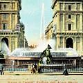 Roma 1900 Piazza Di Termini by Heidi De Leeuw