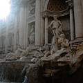 Roma Fontana Dei Trevi by Carina Francioso
