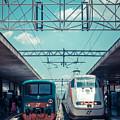 Roma Termini Railway Station by Edward Fielding