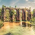Roman Aqeduct I by Agis Fere