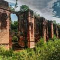 Roman Aqueduct II by Agis Fere
