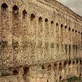 Roman Aqueduct II Merida Spain by Joan Carroll