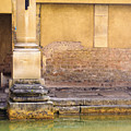 Roman Column At The Spa by Christi Kraft