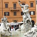 Roman Fountain by Charles  Ridgway