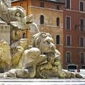 Roman Fountain  by Deanna Keahey
