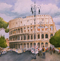 Roman Holiday- Colosseum by Leah Wiedemer