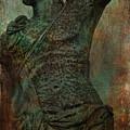 Roman Hunter Statue Torso Left by Lesa Fine