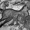 Roman Mosaic: Man & Horse by Granger