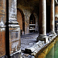 Roman Pillars  by Vicki Lea Eggen
