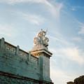 Roman Statue by Douglas Barnett