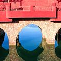 Roman Style Bridge On Red Sea by Jean-Yves Salou
