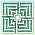 Roman - The Green Path by Fine Art Labyrinths