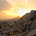 Roman Theater In Taormina IIi by Madeline Ellis