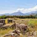 Roman Villa Ruins At Makry Gialos by Antony McAulay