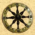 Roman Wheel by David Lee Thompson