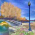 Romance At Elizabeth Park Bridge by Ruth Moratz