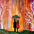 Romance In The Rain by Manjiri Kanvinde