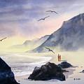 Romance Of The Cormorants by Shirley Braithwaite Hunt