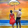 Romance On The Beach by Manjiri Kanvinde