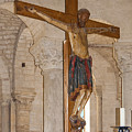 Romanesque Abbey Crucifix by Sally Weigand