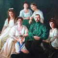 Romanov Family Portrait by George Alexander