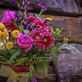 Romantic Bouquet 3 by Claudia M Photography
