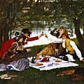 Romantic Picnic 1873 by Padre Art
