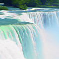 Romantic Skies Niagara Falls 2  by Aimee L Maher ALM GALLERY