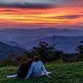 Romantic Smoky Mountain Sunset by Eric Albright