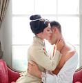 Romantic Victorian Couple by Lee Avison