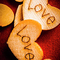 Romantic Wooden Hearts by Jorgo Photography - Wall Art Gallery