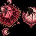 Romantically Jewelled Abstract by Georgiana Romanovna
