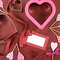 Romantic Theme Cookie Cutters by Milleflore Images