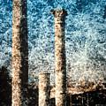 Rome - 3 Classic Colums by Renata Ratajczyk