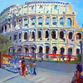 Rome Colosseum by Ylli Haruni