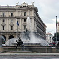 Rome Italy Fountain  by Brett Winn